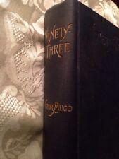 Ninety-Three Victor Hugo Routledge