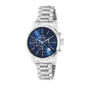 Mens Wristwatch CHRONOSTAR URANO R3753270002 Multifunction Steel Blue NEW