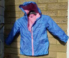 tu girls windbreaker coat aged 3 / 4 yrs