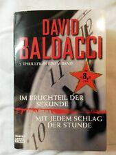 Im Bruchteil der Sekunde von David Baldacci /  Thriller 2009 (Taschenbuch)