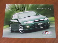 c2001 HSV Senator 300 original Australian single page brochure