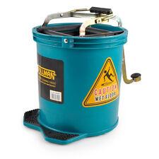 Green Commercial Mop Bucket Heavy Duty Pullman 16L
