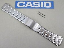 Genuine Casio AW-80D AW-82D stainless steel watch band silver tone 10483647