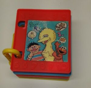 Vintage 1997 Play Doh Molds - Sesame Street Counting Numbers Book [VHTF]