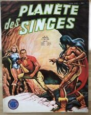 Planet Of The Apes #16 with Doc Savage (1978) French B&W magazine comic book Fn