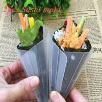 Hand-rolled Sushi Rice Mold Plastic Easy Hand Sushi Maker Mould Diy Rice Sushi;