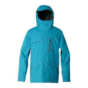 New Quiksilver Travis Rice First Class Gore-Tex Jacket/Coat Waterproof XL Blue