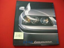 SEALED FACTORY ISSUED 2000 GM CHEVROLET IMPALA PRESS INFORMATION RELEASE EXC.