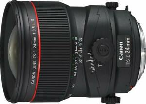 Tail shift lens TS-E24mm F3.5L II Full size compatible Canon From Japan