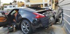 nissan z34 370z jdm rear windows louvers Matte black