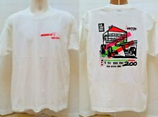 Vintage WISECO RACING T SHIRT - Red Roof Inns 200 - Size M