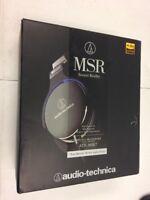 Audio-Technica ATH-MSR7 Over-Ear Audio Headphones, Black