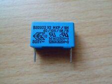 Epcos B32922-A2104M Kondensator 0,1µF 20% 305VAC 760VDC RM15  *5 Stück*