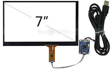 "7"" inch USB Capacitive Touch Panel Screen+USB Controller Board for Rasperry PI"