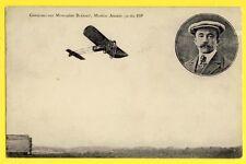 cpa AVIATION Abel GRAZZIOLI d' AMBLEVILLERS sur MONOPLAN BLERIOT Moteur ANZANI