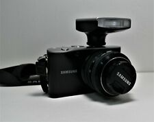 Samsung NX100 Mirrorless Digital Camera W/20-50mm Lens