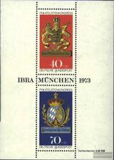 RFA (FR.Allemagne) Bloc 9 (édition complète) timbres prémier jour 1973 ibra
