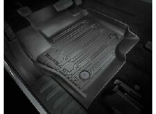 OEM NEW 2017 Ford Super Duty REG CAB Floor Mat Tray Style Rubber 2pc w/Carpet