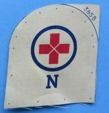 ROYAL  NAVY <>   OLD  NAVY    printed  MEDICS  ( N ) BADGE  <>  UNUSED