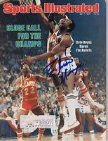 Elvin Hayes Signed Full 1979 Sports Illustrated Magazine Bullets
