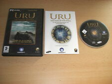 Uru - THE PATH OF THE SHELL inc. Uru to D'ni Add-On Expansion Pack Pc Cd Rom