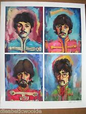 The Beatles Lennon Paul McCartney George Art Print Poster Lonely Hearts Club