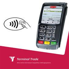 EC Terminal ec Kartenlesegerät ec cash Gerät Ingenico ict 220 kontaktlos bez.