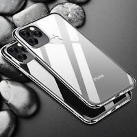 For Apple iPhone 11 Pro Max XS XR 8 7 Plus Ultra-thin Full Clear Hard Case Cover