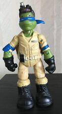Teenage Mutant Ninja Turtles Ghostbusters Leonardo as Ray Stantz Figure Loose
