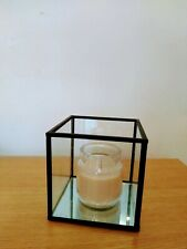 Scented candle with Glass Tealight holder