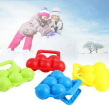 Color Random 5 Type Snowball Maker Snowball Fight Sand Mud Mold Clip Toy Gifts