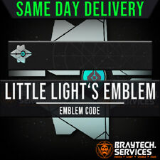 Destiny 2 Little Light Emblem Code *SAME DAY DELIVERY* [PS4/Xbox/PC]!