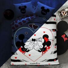 Bettwäsche 200x220 Disney Minnie und Mickey Mouse Soinlove Bettwäsche Set