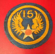 15TH ARMY AIR FORCES LEATHER SHOULDER PATCH