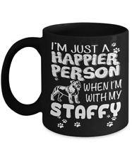 New listing Staffordshire Bull Terrier, Staffy, Staffie Coffee Mug, Cup