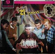 """CLIFF RICHARD And The SHADOWS   LP COLUMBIA   """"  21 TODAY  """"   [UK]"""