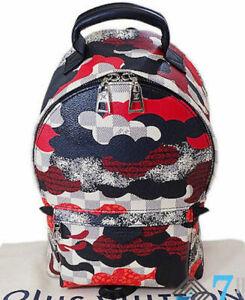 LOUIS VUITTON LV Bag Backpack N41059 Palm Springs Damier Azur Cruise Rucksack