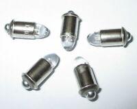 Ampoules De Remplacement LED MS4 (Märklin 600000) 16-24V - 5 Pièces Nouveau