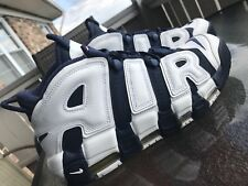 Nike Air More Uptempo OLYMPIC 2016 USA NAVY BLUE WHITE Sz.10