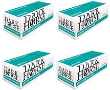 20 x 200 Mentholhülsen MENTHOL Zigarettenhülsen Filterhülsen TIP DARK HORSE NEU