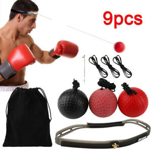 Speed Reflex Fight Ball & Head Band MMA Boxing Training Punch Boxer Box Exercise