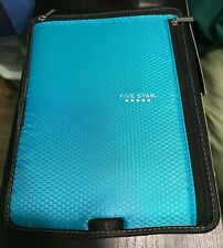 Mead Five Star Binder Tablet Sleeve Aqua Color