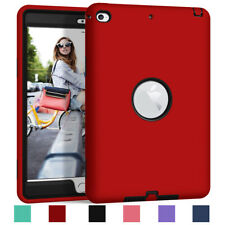 For Apple iPad Mini 4 5 Shockproof Hybrid Rugged Rubber Protective Case Cover