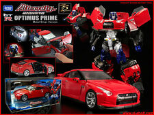 Takara Transformers Alternity GTR Red Convoy Optimus Prime MISB/ henkei encore