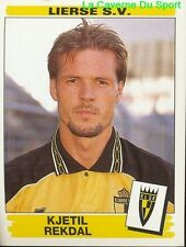 210 KJETIL REKDAL NORWAY LIERSE.SV STICKER FOOTBALL 1996 PANINI