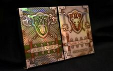 Knight Playing Cards Fury / Rage Rare Limited Custom Optical Illusion Poker Deck