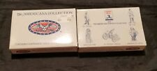 The Americana Pewter Collection Solid Pewter Figurines 2 Sets Ah47, Ah48