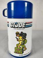 "1988 Hasbro GI Joe ""Tiger Force"" Aladdin Plastic Lunchbox Thermos"