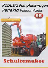 Schuitemaker Robusta Perfekta Prospekt 11/01 brochure Broschüre 2001 Niederlande