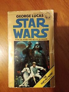 Star Wars From the Adventures of Luke Skywalker by George Lucas, 1977, sixth pri